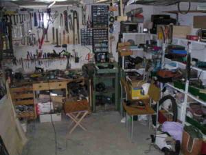 garage. Black Bedroom Furniture Sets. Home Design Ideas